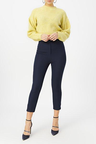 RANDOM Kadın Lacivert Klasik Kesim Pantolon