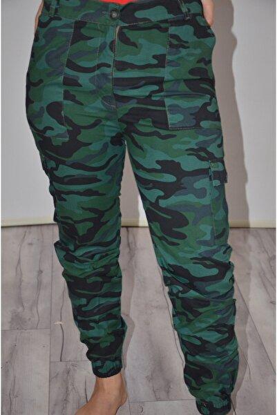 zeynep Kadın Yeşil Kargo Pantolon