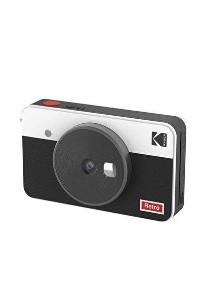 Kodak Mini Shot Combo 2 Retro - Anında Baskı Dijital Fotoğraf Makinesi - Beyaz