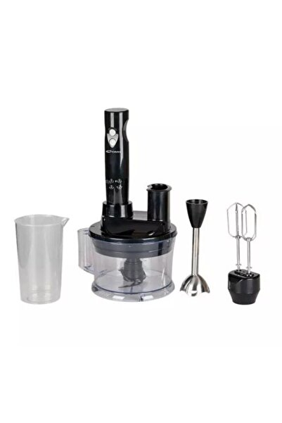 CONTİ Blender Set Cmd 502 Servomax Plus Siyah