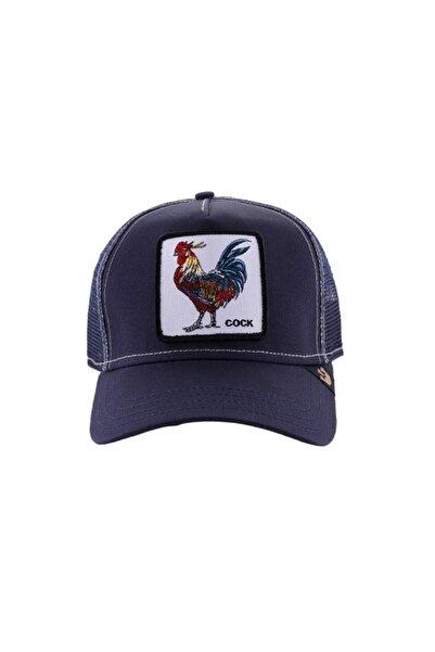 Goorin Bros Unisex Lacivert HorozFigürlü Şapka