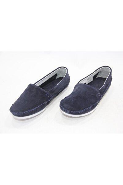 İnci Kadın Lacivert 36 Numara Hakiki Deri Sandalet Ayakkabı