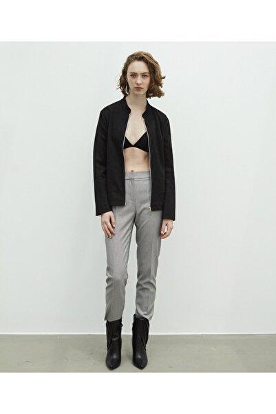 İpekyol Kadın Siyah Süet Form Ceket