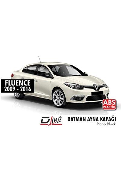 autovision Renault Fluence Batman Yarasa Ayna Kapağı Piano Black