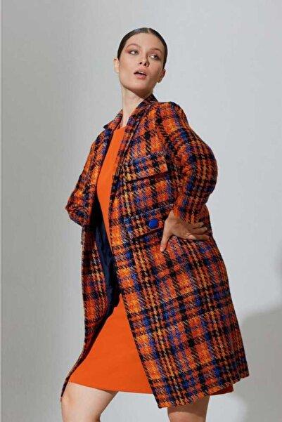 Mimya Kadın Renkli Ceket