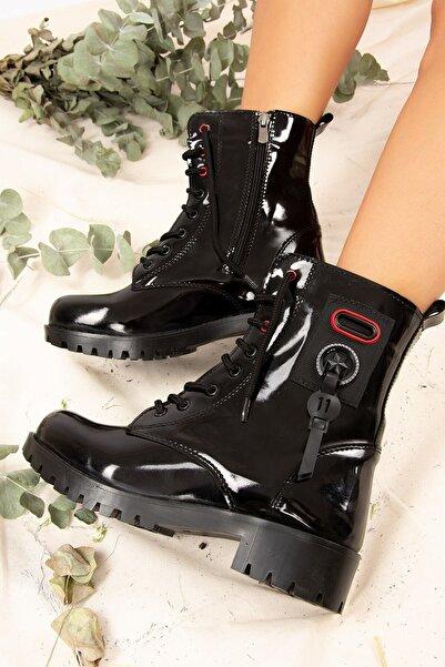 Fox Shoes Kadın Siyah Bot J652101008