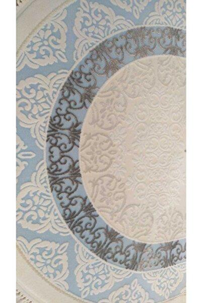 Tiffany Mavi Fantasia  Oval Halı T1804m