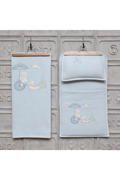 Bebitof Baby Şemsiyeli Ayıcık Bebek Alt Açma Seti 50005