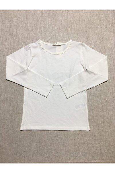 Breeze Kız Çocuk Ekru T-Shirt