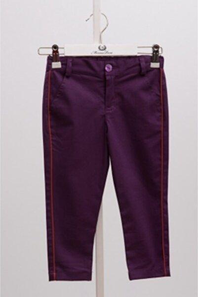 Monna Rosa Erkek Çocuk Mor Pantolon
