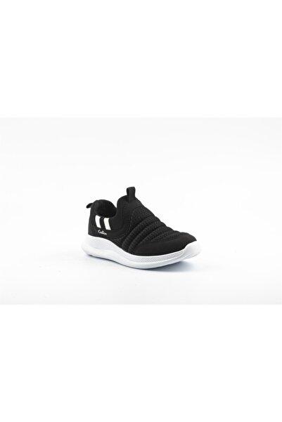Papion Erkek Çocuk Siyah Beyaz Spor Ayakkabı W605