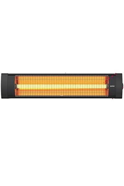 Simfer Blackline Infrared Elektrikli Soba Isıtıcı Devrilme Emniyetli