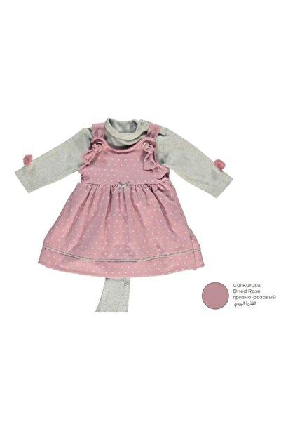 Bebetto Kız Bebek Iki Ip Elbise 3'lü Takım