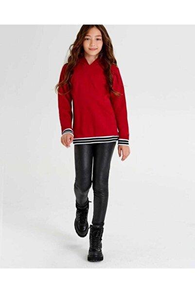 Wonder Kıds Wonder Kids Kapşonlu Kırmızı Sweatshirt
