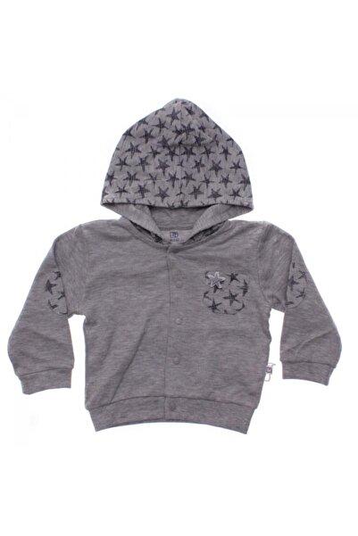 Bibaby Unisex Bebek Gri Ceket