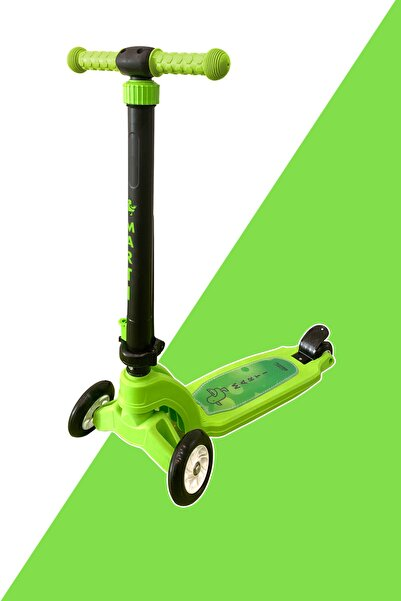 Martı Tech Yeşil Çocuk Scooterı Mini Martı
