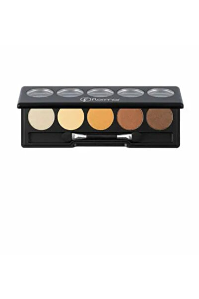 Flormar - Color Palette Eye Shadow - 5'li Göz Far Paleti