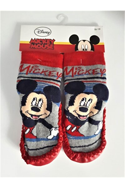 Mickey Mouse Lisanslı Çarık Çorap