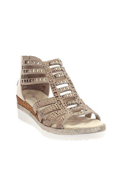 Mammamia Bej Kadın Sandalet D20YS-1315