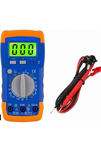 Ricardo Technomax Tm-9214 Dijital Multimetre Avometre-elektrik Ölçüm