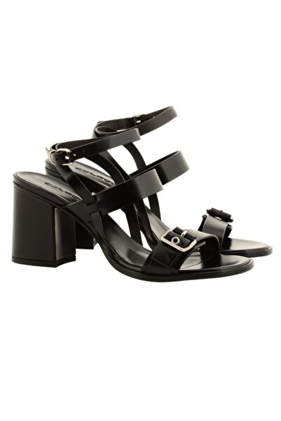 Nursace Kadın Siyah Topuklu Ayakkabı A57639