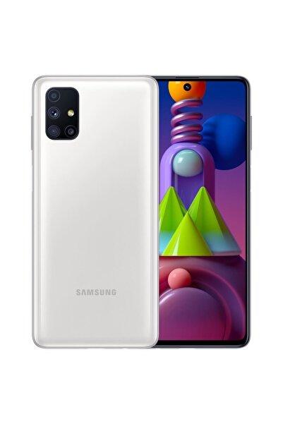 Samsung Galaxy M51 (Çift SIM) 128GB Beyaz (Samsung Türkiye Garantili)