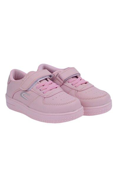 Kiko Kids Kız Çocuk Pembe Bantlı Sneaker