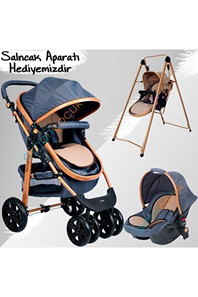 Baby Home Bebegold 620 Hamilton Travel Sistem Bebek Arabası + Salıncak Aparatı