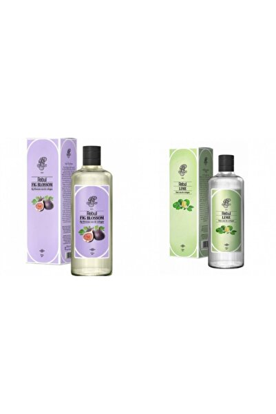 Rebul Incir + Lime 270 Ml Cam Şişe Set