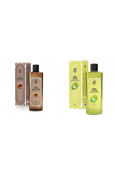 Rebul Dark Spice + Nature 270 Ml Cam Şişe Set