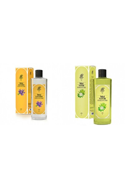Rebul Lavanta + Nature 270 Ml Cam Şişe Set
