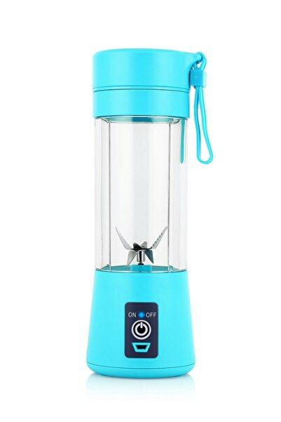 Mobee Mavi Şarjlı Mobil Blender Smoothie Mikshake Margarita Bebek Mama Ve Içecek Karıştırıcı