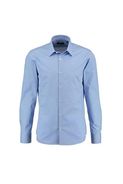 CCS Sarar Erkek Mavi Frank Nev Slım Fit Gömlek