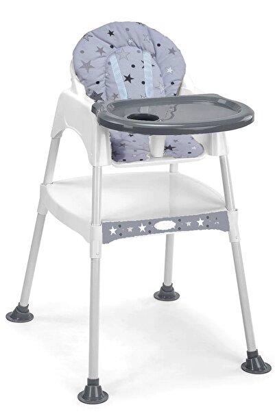 MiniMisi Lüx Mama Sandalyesi Çalışma Masalı Özellikli Kalın Minder Hediyeli