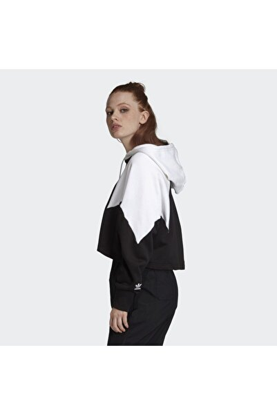 adidas Kadın Siyah Large Logo Sweatshirt
