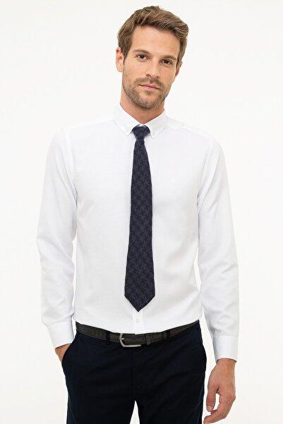 Pierre Cardin Erkek Beyaz Slim Fit Gömlek G021GL004.000.862520