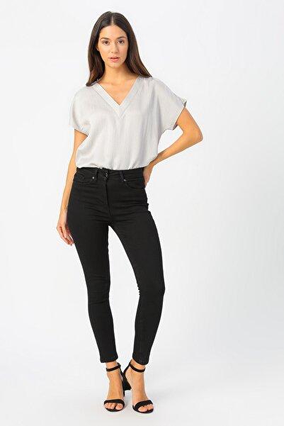 Fabrika Kadın Siyah Jeans 504395235