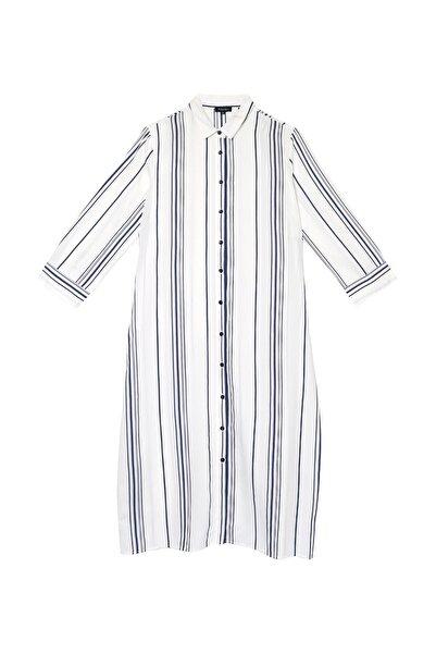 Fabrika Kadın Beyaz Elbise 504529467