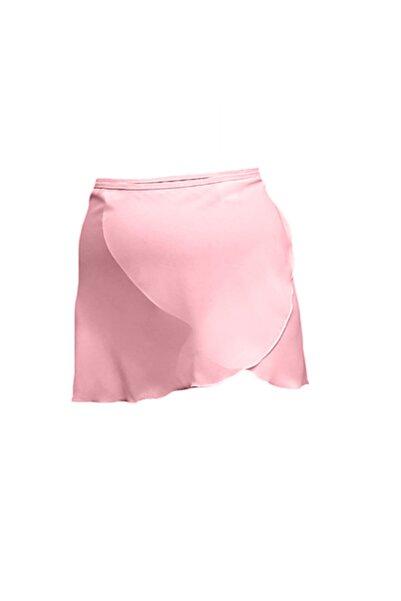 Astra Kadın Pembe Anvelop Bale Eteği