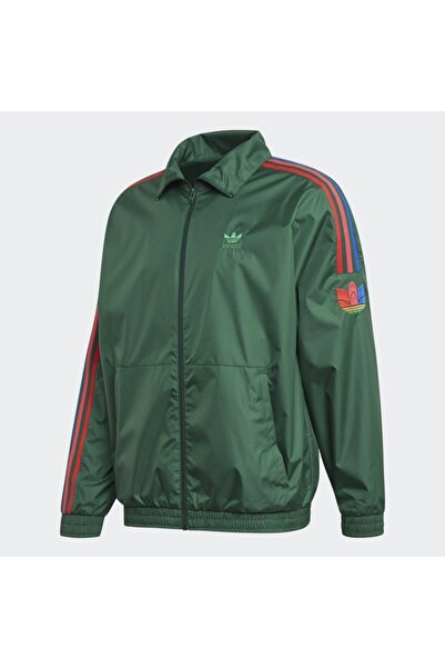 adidas 3d Trefoil 3-stripes Track Erkek Sweatshirt