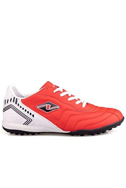 Lion Siyah Kırmızı Halısaha Ayakkabı