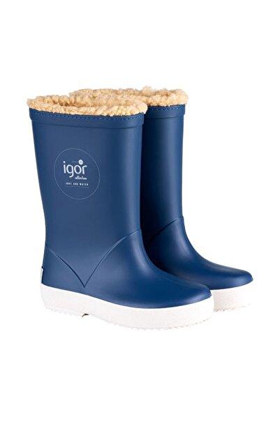 IGOR Erkek Çocuk Mavi W10207 Splash Nautico  Su Geçirmez Yağmur Kar Çizmesi