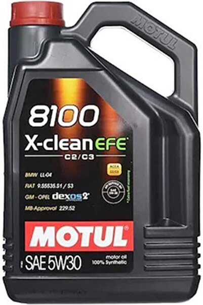 Motul 8100 X-clean Efe 5w30 Dexos2 Partiküllü Motor Yağı 4lt ()
