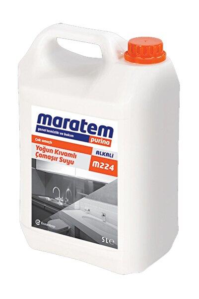 Eczacıbaşı Maratem M-224 Yoğun Kıvamlı Çamaşır Suyu 5 Litre