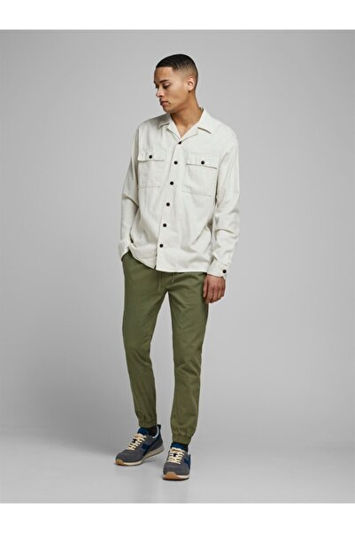 Jack & Jones Erkek Zeytin Yeşil Pantolon