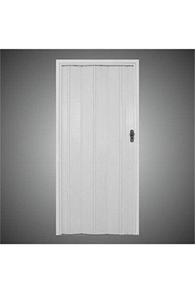 Penguen Beyaz Camsız Akordiyon Katlanır Kapı 12 mm En 87 cm * Boy 220 cm