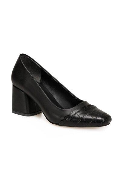 Butigo Kadın Siyah Topuklu Ayakkabı