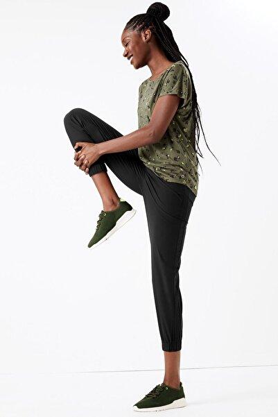 Marks & Spencer Kadın Siyah Eşofman Altı T51006065