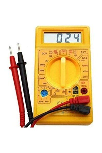 fitfiyat Dijital Avometre Ampermetre Ölçüm Cihazı Ölçü Aleti