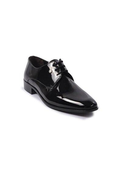 Pierre Cardin 70pc10 Siyah Rugan Erkek Klasik Ayakkabı